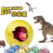 Wholesale 6pcs/lot Animal Dinosaur Egg Toy Plastic Jurassic Play Classic Toy kids Toy PVC Model Toy for Kids Gift In Stock