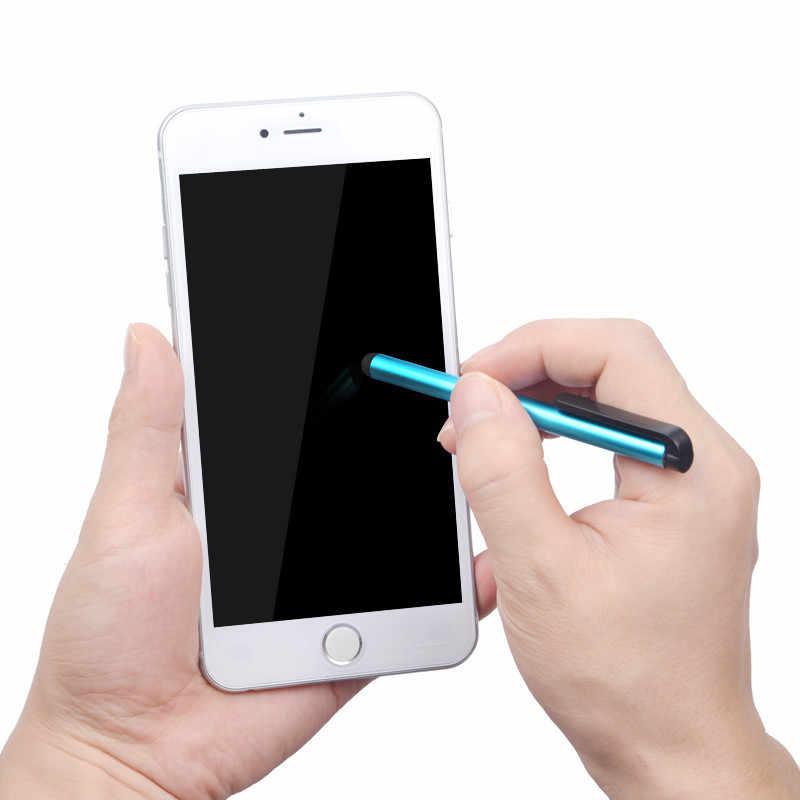 2 piezas para ipad Air1 Mini 12 iPhone 8 7 pantalla táctil capacitiva lápiz óptico para Samsung m ipad Universal bolígrafos para teléfono inteligente Tablet PC