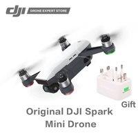 Оригинальный DJI Spark Quadcopter Портативный Drone с жест Управление Wi Fi FPV 1/2,3 дюйма Сенсор панорама фотография 1080 P видео