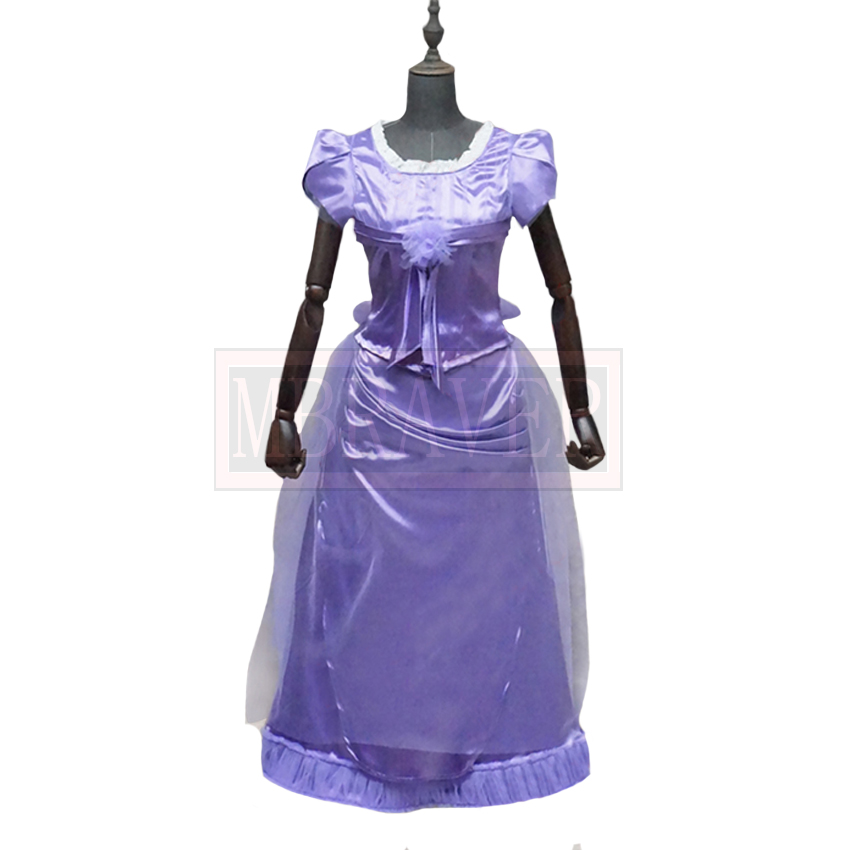 Movie The Nutcracker and the Four Realms Cos Clara Cosplay Costume Purple  Dress Uniforms Tailor made Any Size-in Movie   TV costumes from Novelty    Special ... 32ae5e593f6d
