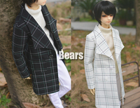 1/3 scale BJD clothes Plaid coat doll accessories for BJD/SD.Not included doll,shoes and other accessories NO0496