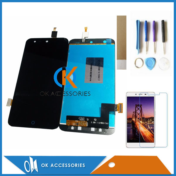 Good Quality For <font><b>ZTE</b></font> Blade X5 Blade D3 <font><b>T630</b></font> LCD Display+Touch Screen Digitizer Assembly Black Color With Kit image