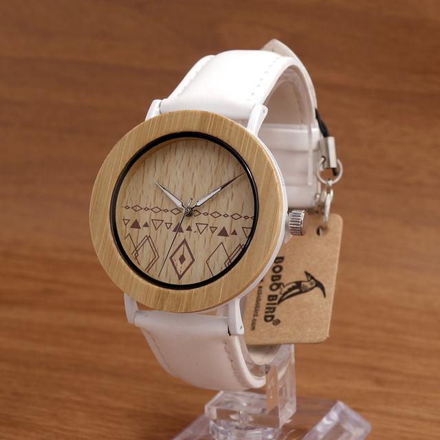 BOBO PÁSSARO E24 Unisex Top Designer Da Marca de relógios de Pulso das Mulheres Dos Homens Tevise Relógios em Caixas de Presente De Madeira De Bambu Dropshipping