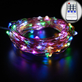 30M 98Ft 300 leds Copper Wire LED String Light Starry Holiday Lights Remote Control with Power Adapter(UK,US,EU,AU Plug)