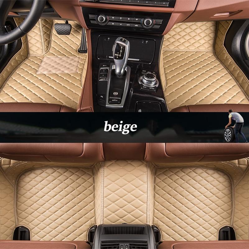 kalaisike Custom car floor mats for Geely all models Emgrand EC7 GS GL GT EC8 GC9 X7 FE1 GX7 SC6 SX7 GX2 car styling accessories комплект накладок на дверные ручки хром для geely emgrand gt 2017