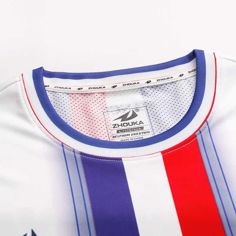 c830c0bf7 ... Wholesale Sublimation Printing Custom Futbol Club Team Uniform Football  Shirt Tops Suit Spain Jerseys Soccer Kit ...