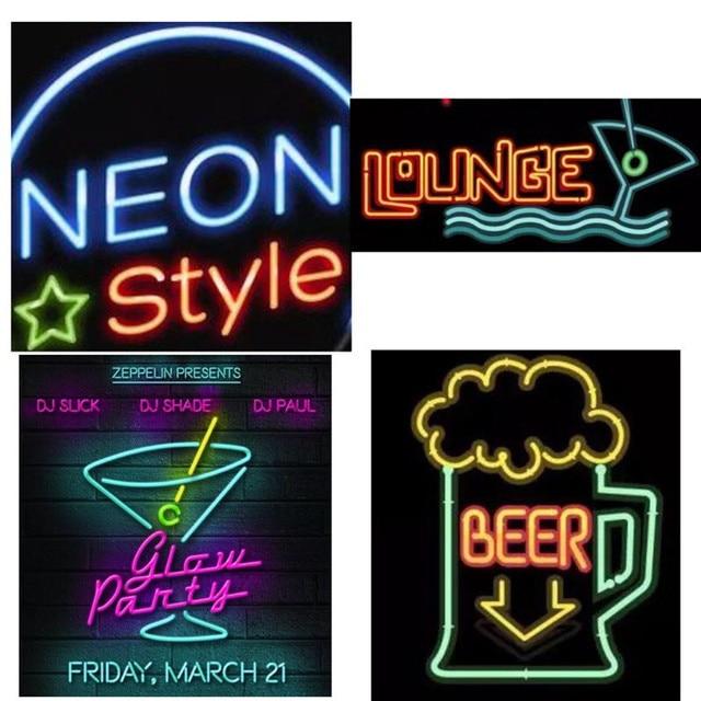 waterdichte 1 m 2 m neon lamp 12 v led strip licht flexibele schoenen kleding auto