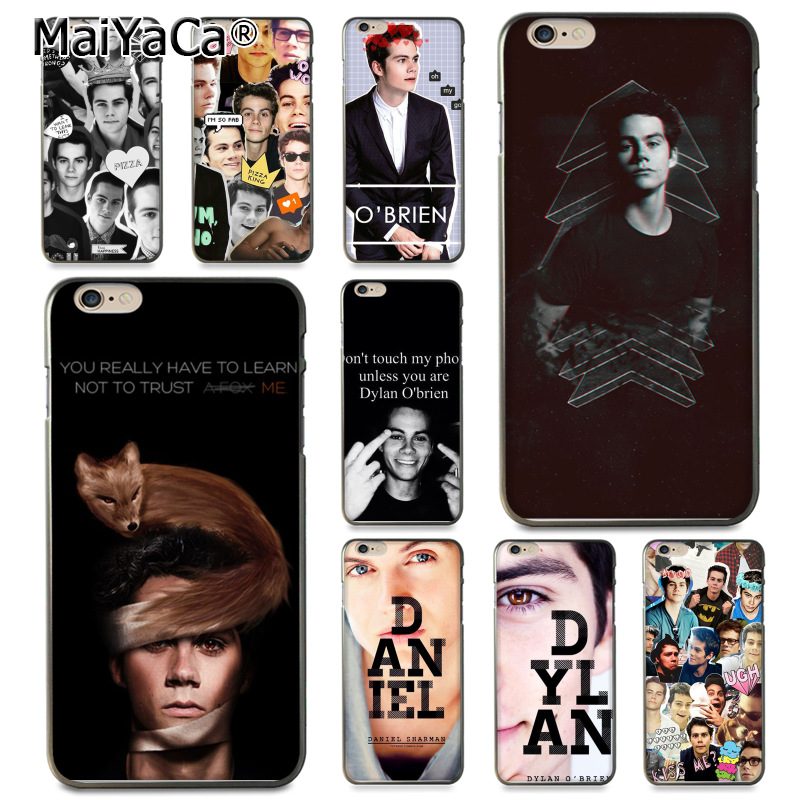 Dylan O'Brien Teen Wolf cool Coque Phone Accessories Case for Apple iPhone 8 7 6 6S Plus X 5 5S SE 5C Cover12 mini 12PRO Max