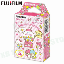 Fujifilm Instax Mini 8 9 Film Sanrio Characters Fuji Instant Photo Paper 10 Sheets For 70 7s 50s 50i 90 25 Share SP 1 2 Camera