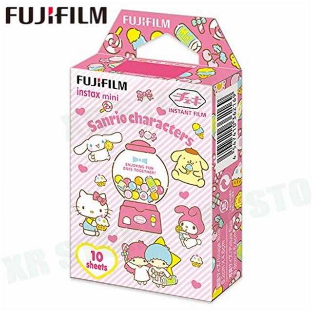 Fujifilm Instax Mini 8 9 Film Sanrio Characters Fuji Instant Photo Paper 10 Sheets For 70 7s 50s 50i 90 25 Share SP 1 2 Camera