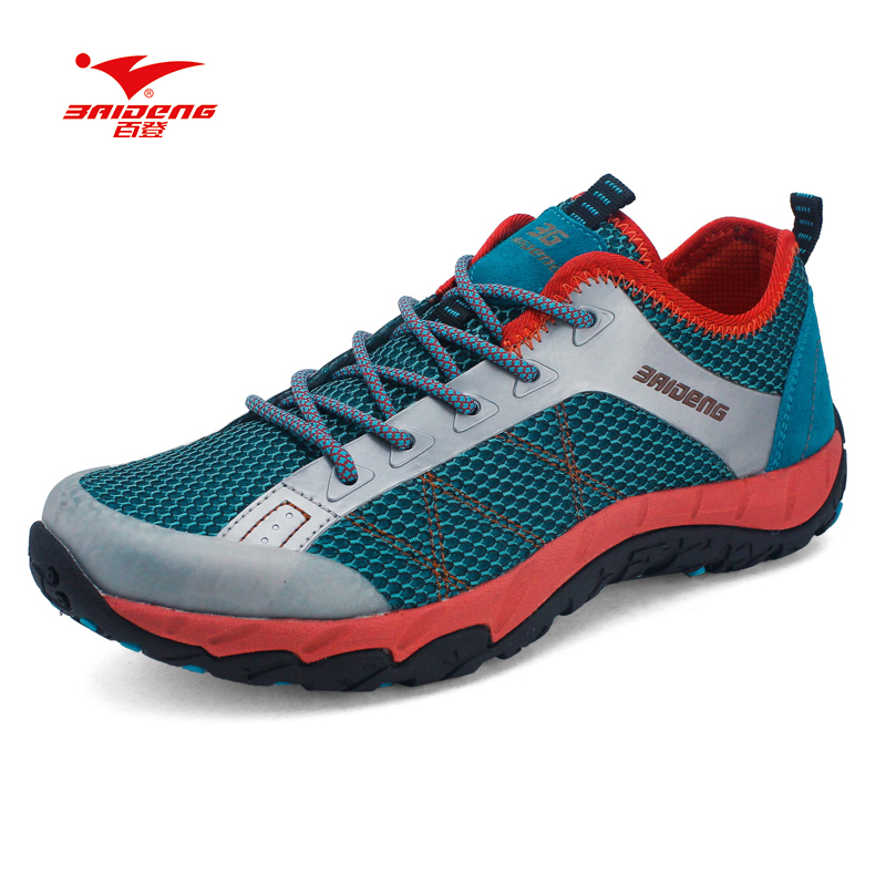 Baideng Brand Mesh New Men hiking shoes Summer style Cool Breathable outdoor climbing shoes hiking camping shoes пинтосевич и сделай твой первый шаг книга тренинг