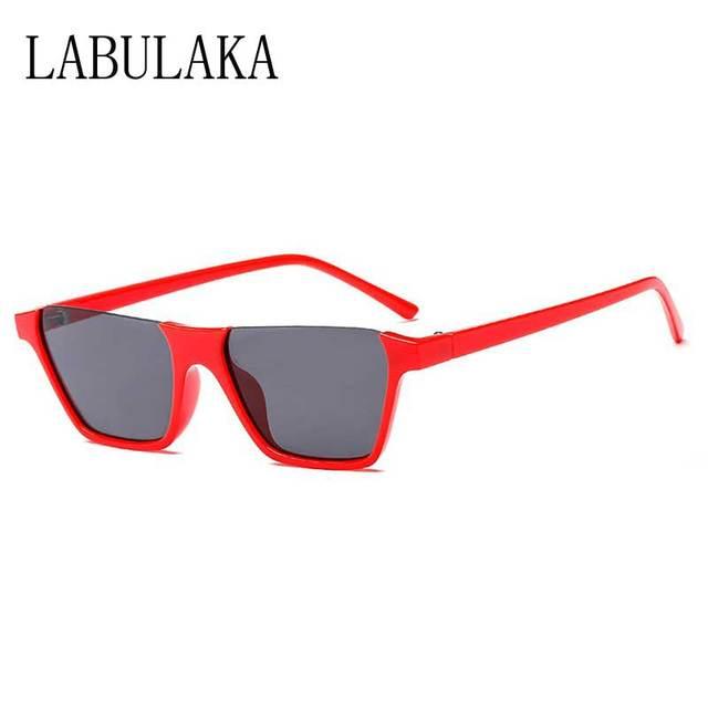566a9516d5f5 Women Sunglasess Cat Eye Brand Designer Vintage Half Frame Cateye Sun  glasses 2018 Fashion Shades Female Retro Plastic Eyewear