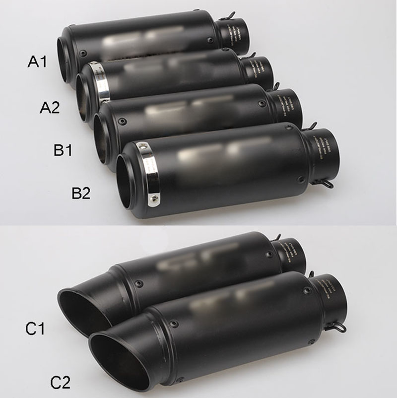 Motorcycle Exhaust Muffler-Pipe Carbon-Escape 38-51mm Db Killer 60mm Crf 230 Suzuki Gsr