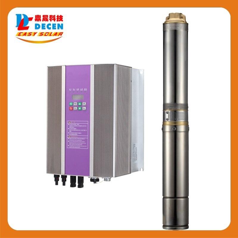 DECEN@ 3000W Water Pump+3700W PV Pump Inverter For Solar Pump System Adapting Water Head(67 37m),Daily Water Supply(40 60m3)