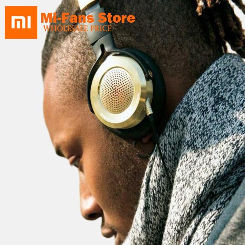 2017 Nouvelle Version Xiaomi Casque Haute-fidélité Mi Casque avec Micro Pliable 3.5mm Musique Écouteur Intégré Knowles Microphone