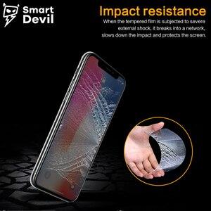 Image 5 - SmartDevil Protector de pantalla Anti reflejo para iphone X DE PRIVACIDAD DE de vidrio templado privado para iphone X película Anti espía cubierta protectora