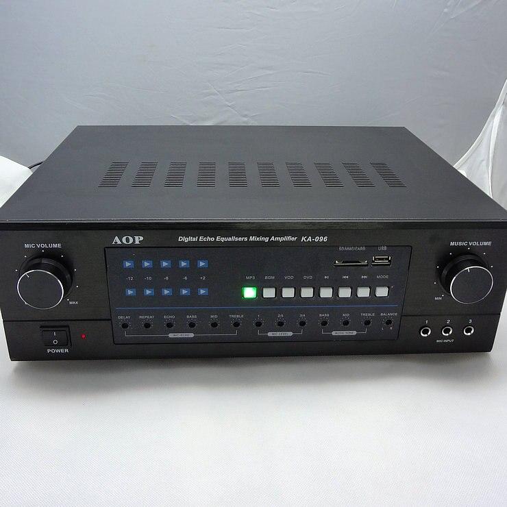 2SC5200 - 2SA1943 AOP KA-096 350W+350W Bluetooth high-power amplifier Home audio Cara OK HIFI audio