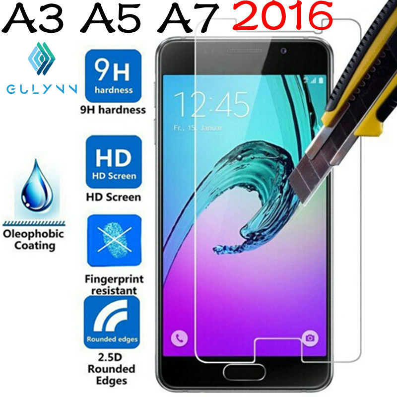 ON SALE ! 2.5D 9H Premium Tempered Glass film for Samsung J3 J5 J7 A3 A5 A7 2016 2017 Galaxy Grand Prime Screen Protector Case