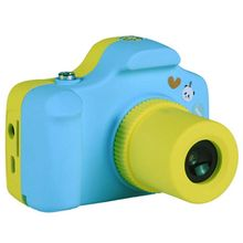 Buy 1.5 Inch 2MP 1080P Mini LSR Cam Digital Camera for Kids Baby Cute Cartoon Multifunction Toy Camera Children Birthday Best Gift directly from merchant!
