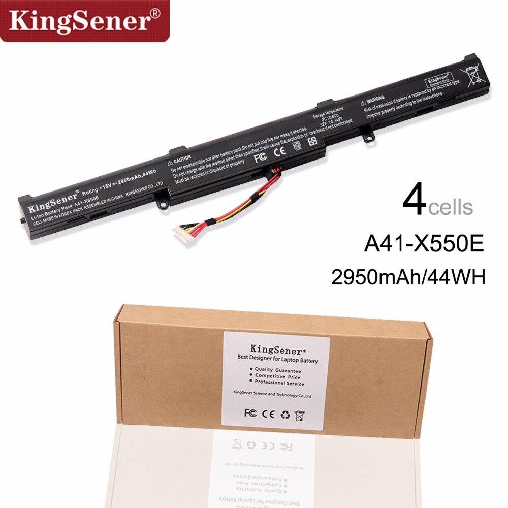 KingSener Korea Cell A41-X550E Laptop Battery for ASUS X450 X450E X450J X450JF X751M X751MA X751L X750JA A450J A450JF A450E 4 cell a41 x550e battery for asus r752lj r752ld r752lb r752m r752l r751j x751m f450e x450e x450 x550 x550e x751l x751m page 9