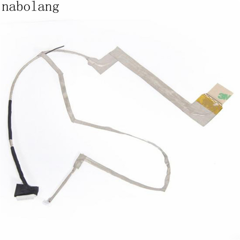 Nabolang LCD Flex Video Cable replacement parts for ASUS K52 A52 X52 K52D K52J K52F K52N X52F Laptop Screen Cable soncci lcd video flex cable for hp probook 4330s 4535s laptop screen display cable