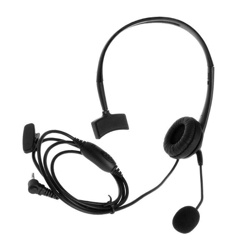 2.5mm 1 Pin Headset Earpiece Ptt Boom Mic For Motorola Talkabout Cb Radio Tlkr T80 T60 Walkie Talkie T6200 T5720 Accessories