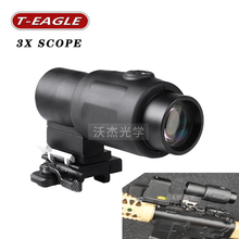 Tactical hunting 3X Rifle Scopes Airsoft Holografische Optische telescope Scope 20mm Rail Chasse Caza Luneta Para optics
