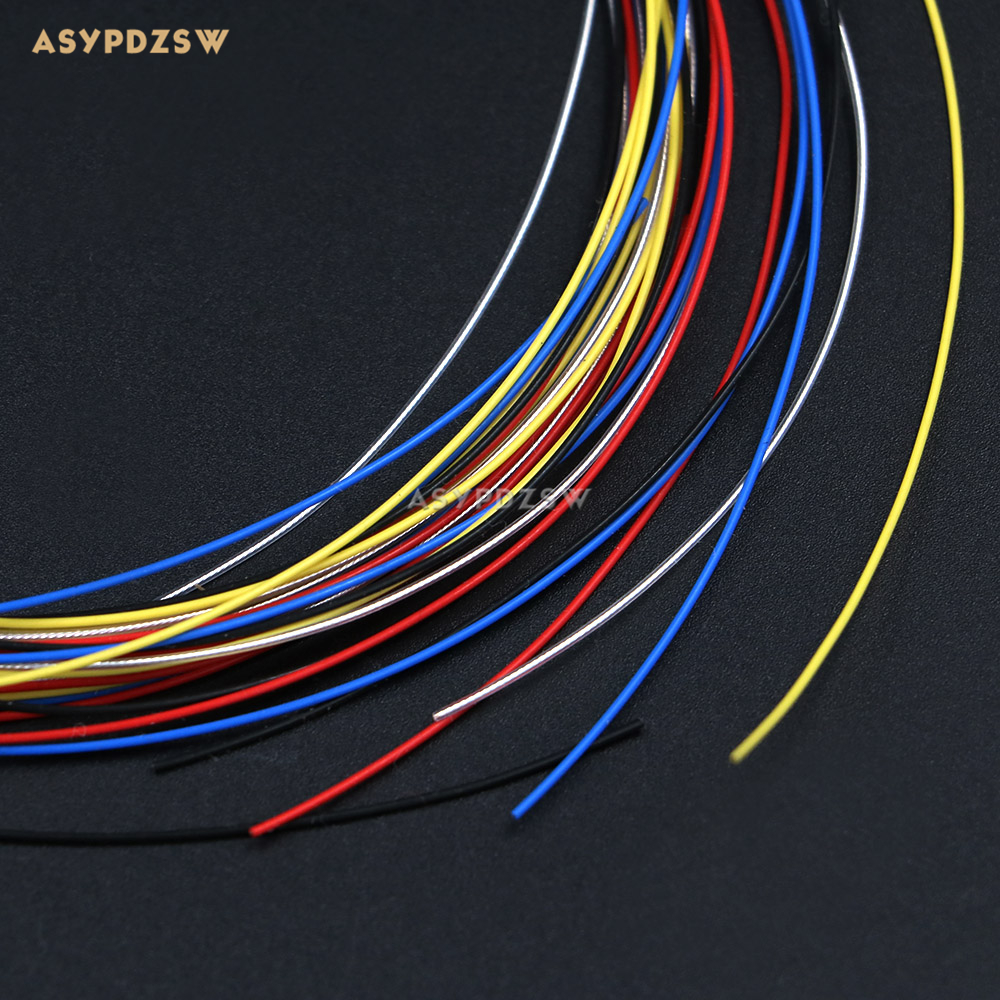 30AWG Plating silver wire D=0.68mm High temperature resistant electronic module cable (2M Price)