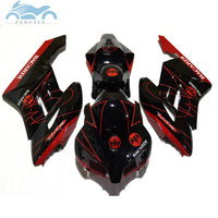 ABS plastic Glossy black fairing kit for 2004 2005 CBR 1000RR Injection mold fairings cbr1000rr 04 05 aftermarket body parts
