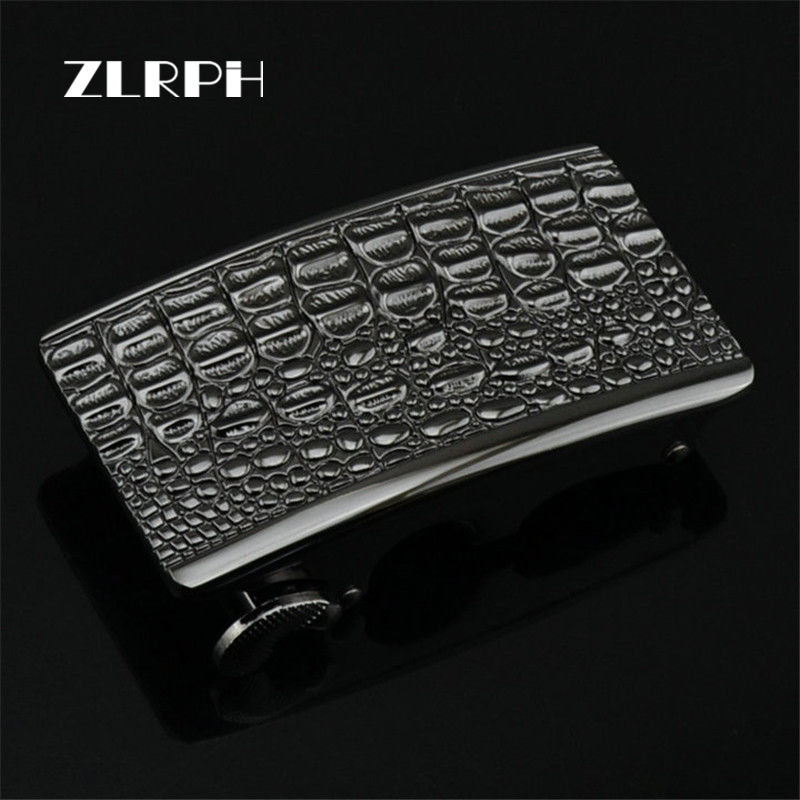ZLRPH 2018 Hot Automatic Belt Buckle For Men Designers High Quality Alloy Suitable Fashion Male Luxury Brand