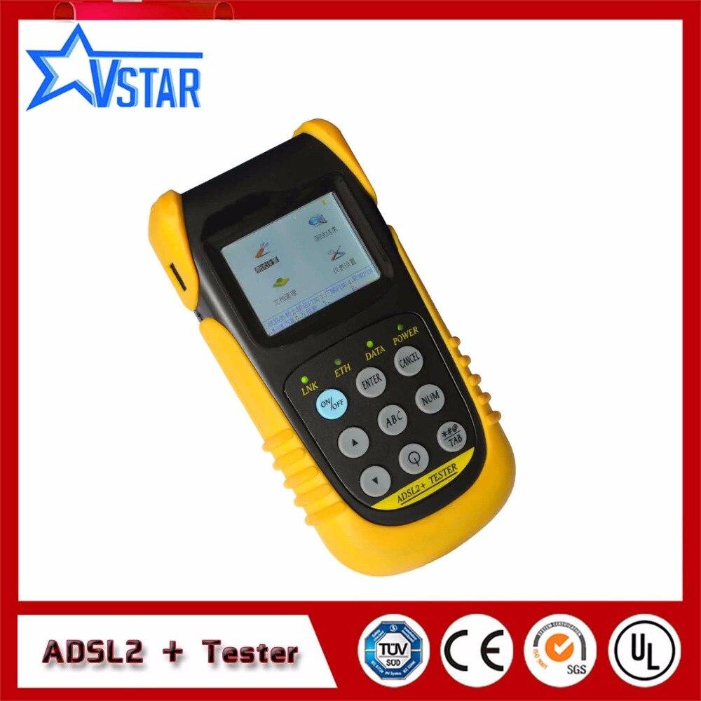 Testeur d'adsl TLD801C multifonctionnel ADSL2 + testeur de Test de PING testeur ADSL2