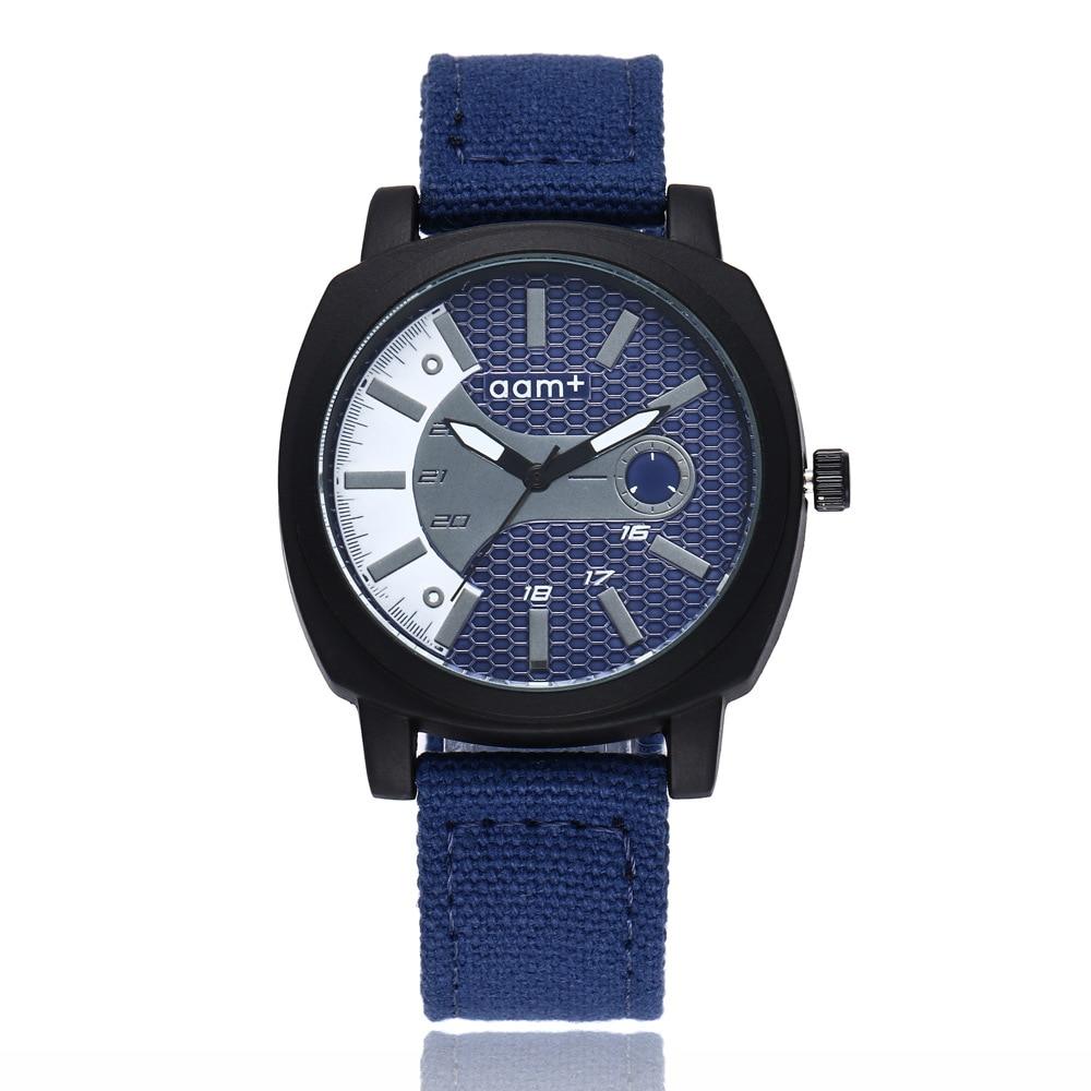 Fashion Nylon Watch Men Brand New Men's Sport Quartz Wrist Military Watches Slim Analog Masculine Hot Shark Style Relojes Saat
