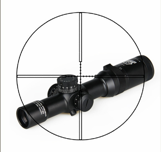 Hunting Scope 1-4x24 IRF Rifle Scope Magnification 1x-4x for Outdoor Sport CL1-0197 russia made матрешка сказка 7м курочка ряба