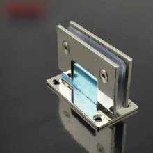 цены High quality 90 degree glass shower room glass door hinge hinge clip