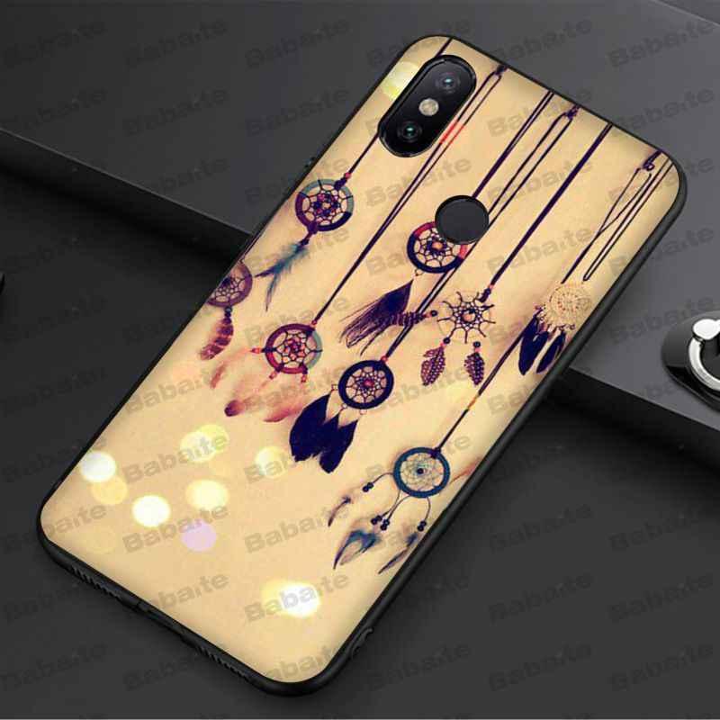 Babaite حلم الماسك غطاء ذكي الأسود لينة قذيفة جراب هاتف ل redmi 5 زائد 5A 6pro 4X note5A note4x note6pro note7 حالات
