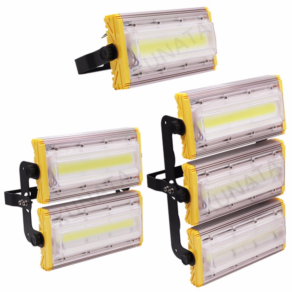 Waterproof COB LED Floodlight 50W 100W 150W Flood Light Outdoor Spotlight Garden Lamp lighting 220V 240V полотенце махровое aquarelle розы 3 коралловое 70х140 см