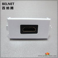 No Welding HDMI Rectangular Module HDMI Joints Combination Modules HDMI Module For 86 And 120 Combined
