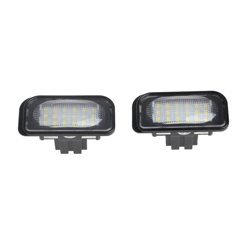 2 Pcs No Error 18 LED SMD License Plate Light For Benz W203 W211 W219 <font><b>R171</b></font> New Jy18 19 Dropship image