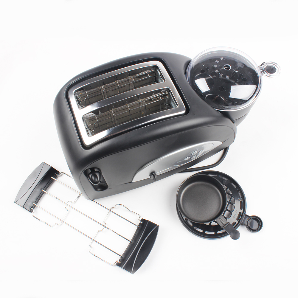 DMWD Multifuntion Breakfast Maker Bread Toaster Steam Egg Sandwich Maker Electric Oven For Household 220V