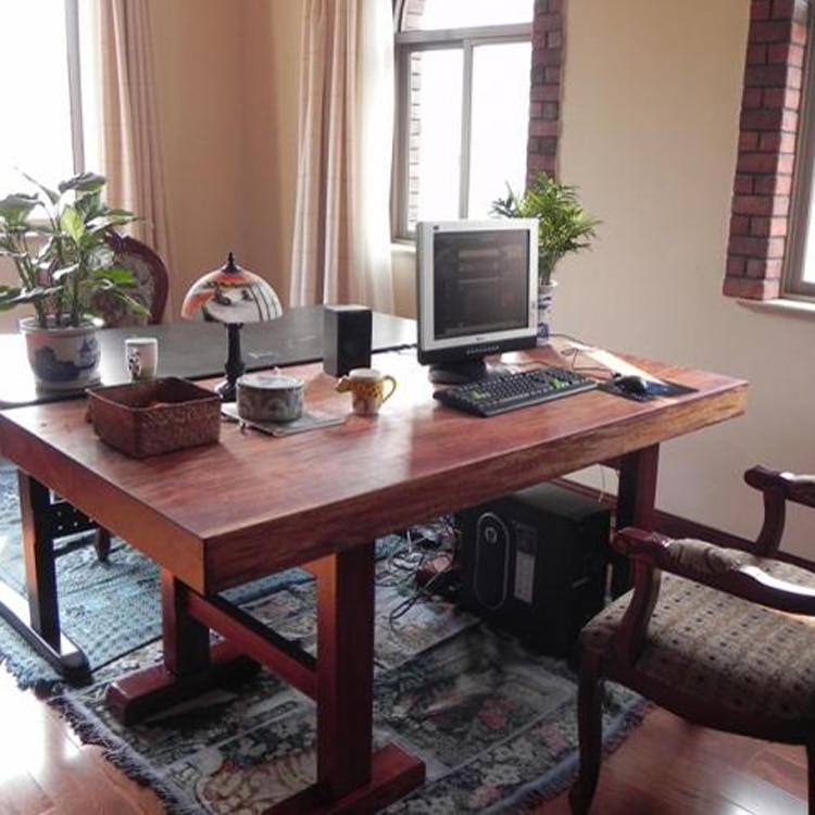 african pear wood big board ebony okanda desk table teachina mainland big office desks