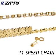 Ztto 11 S 22S 33S 11 Speed Ketting Mtb Mountainbike Road Fiets Onderdelen Hoge Kwaliteit Duurzaam Goud golden Chain Voor Onderdelen K7 Systeem
