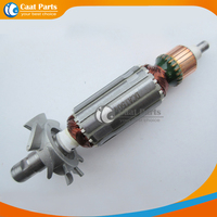 Free shipping! AC 220V Drive Shaft Electric Angle Grinder Armature Rotor for Makita 3710 , High quality!