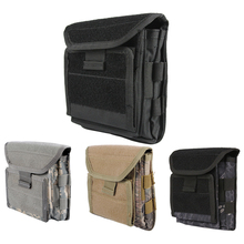 1000D Molle Admin Magazine Ammo Storage Pouch Airsoft Tactical Utility Dump Drop Pouch W/ Belt Loops EDC Gear Waist Bag