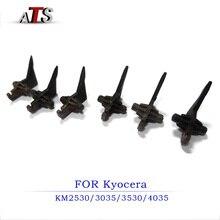 6PCS/Set Fuser Picker Finger for Kyocera KM 2530 3035 3530 4035 Separation Finger separate claw KM2530 KM3035 KM3530 KM4035 2pcs transfer roller bushing for kyocera km3035 4035 5035 taskalfa 420i 520i 302bl17061 2bl17060