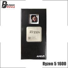 Amd ryzen 5 1600 r5 1600 3.2 ghz 6 코어 cpu 프로세서 yd1600bbm6iae 소켓 am4
