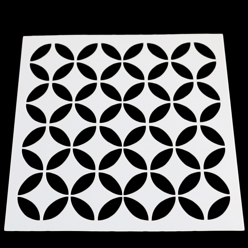 Home & Garden Bakeware Sincere 13cm Circle Lattice Cake Stencil Round Shape Mold Decorating Cake Stencil Plastic Stencil For Wedding Cake Stencil Mk2203 Neither Too Hard Nor Too Soft