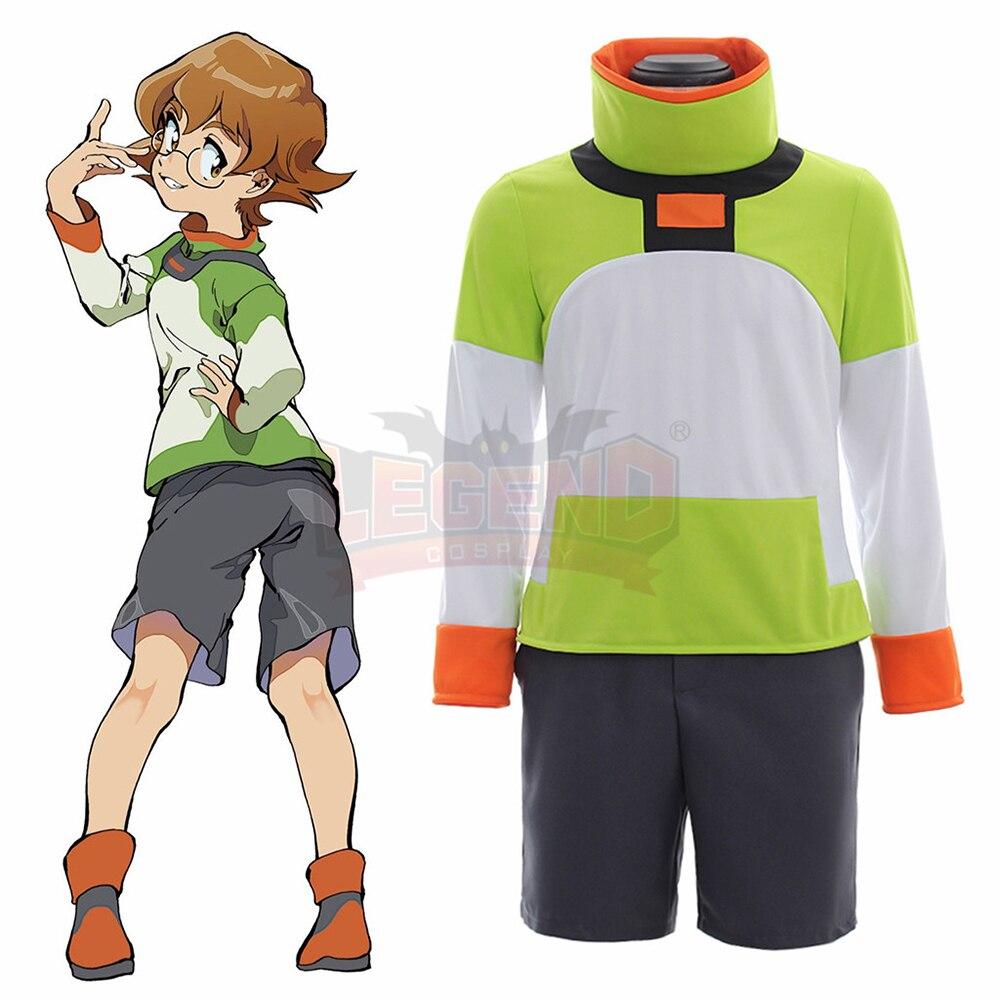 Voltron Legendary Defender Pidge Cosplay Costume voltron cosplay Suit shorts Voltron cosplay full set All Size