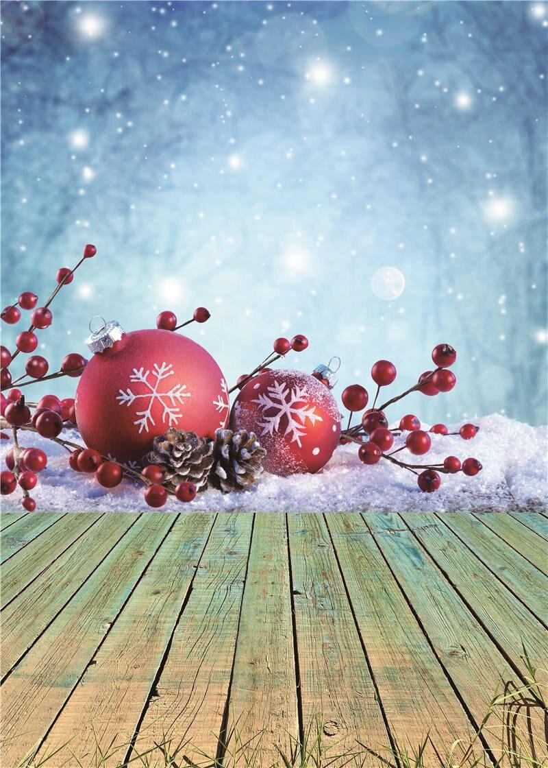 Фото Фонов Рождеством Деревянный Пол Детей Фотография Фона Винил 5x7ft или 3x5ft Jiesdx042