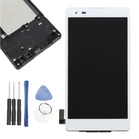 5.0 LCD Display For LG X Style K6 K200 K200F/DS Touch Screen Panel Digitizer Assembly Replacement With Frame
