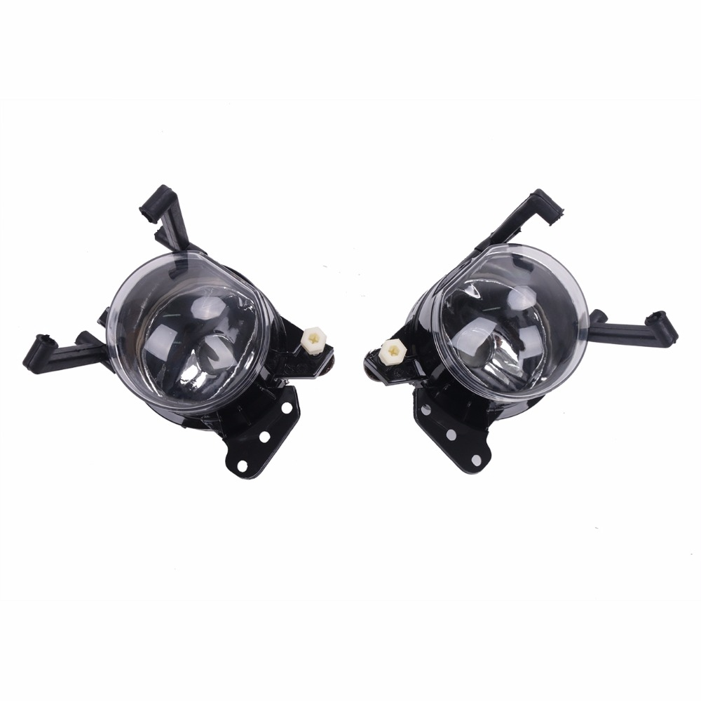1Pair Driving Bumper Fog Lights Lamps For BMW E60 5 Series 525i 530i 535i 545i 550i 2004 - 2008 // high quality 1pair bumper driving fog light lamp lens for bmw e39 5 series 525i 530i 540i 4door 2001 2002 2003 car accessory q35